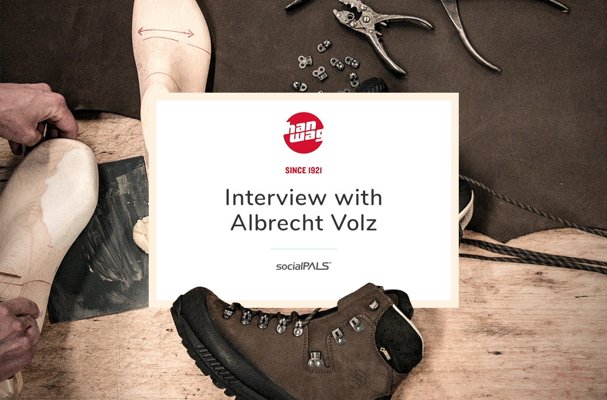 Interview with Albrecht Volz from Hanwag